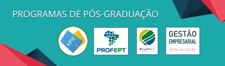 Programas de Pós-graduação
